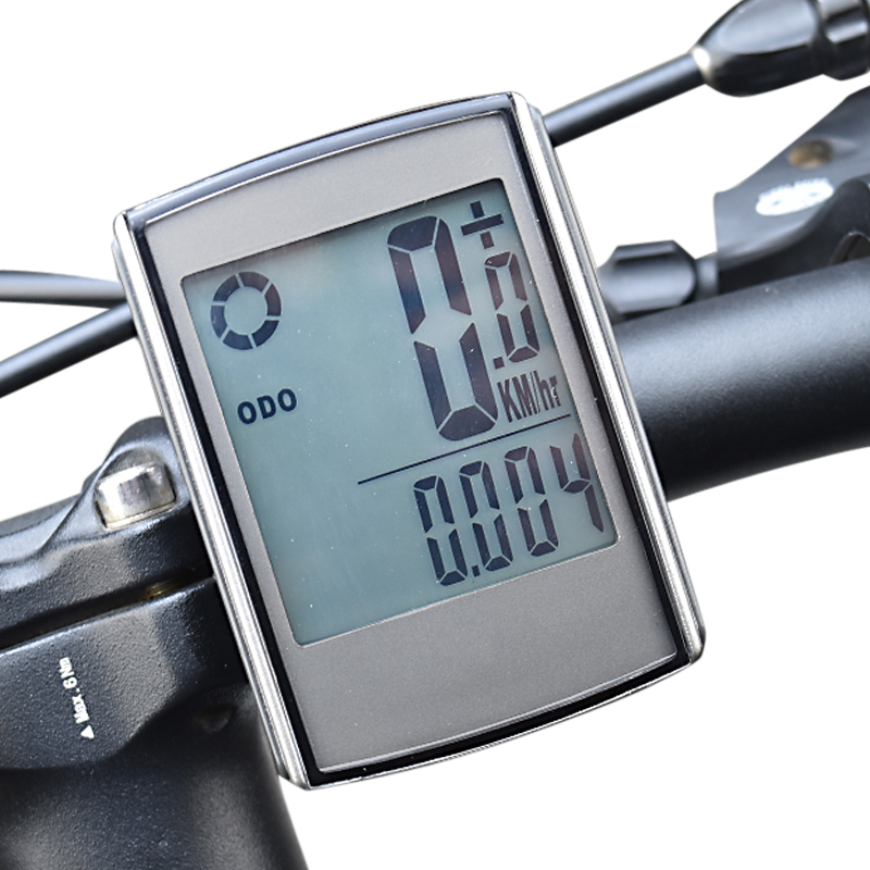 все цены на Wireless Bicycle Computer with Cadence and Heart Rate Monitor Bike Speedometer Waterproof Cycling Odometer онлайн