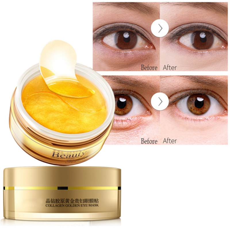 Collagen Gold Eye Mask Spot Patch 30 Pairs Dark Circles Moisturizing Whitening Ageless Sleeping Eyes Skin Care L7 In Creams From Beauty Health On