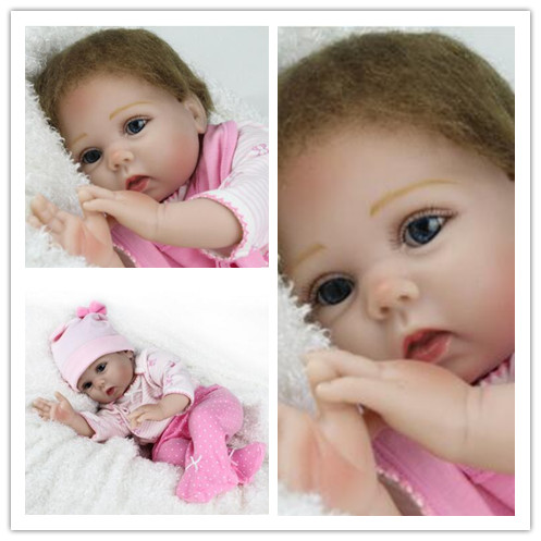 55 cm reborn dolls babies Baby Simulation Doll Soft Children Reborn Baby Doll bebe reborn silicone reborn dolls Lifelike Newborn 55cm doll reborn babies full soft silicon lifelike newborn baby dolls baby reborn simulation toys gift for children partner
