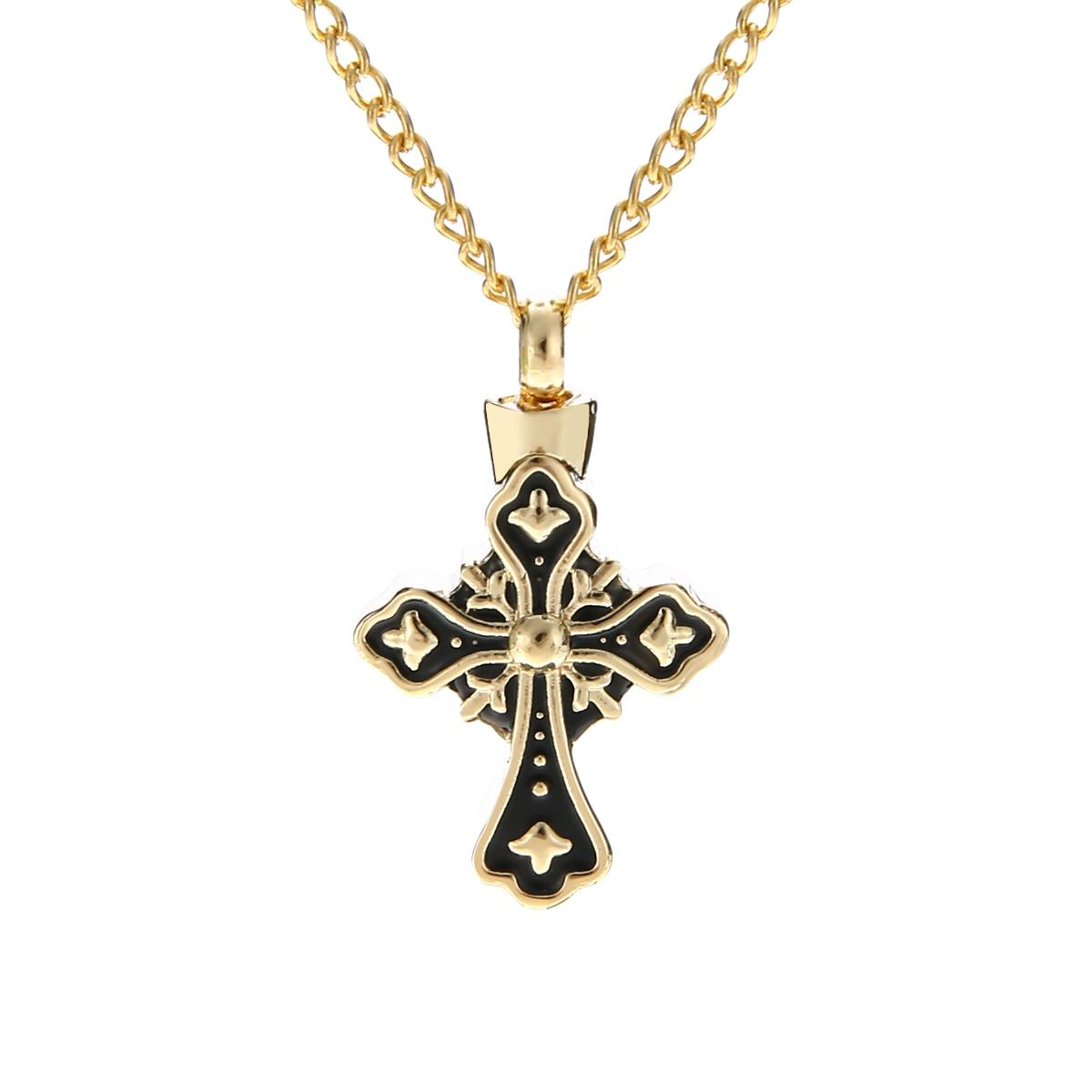 Vintage Urn Cremation Pendant Necklaces Shellhard Punk Ash Holder Mini Keepsake Long Chain Necklace Women Memorial Jwewelry