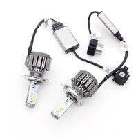 Dongzhen Auto V16 H4 HB2 9003 Hi Lo LED Car Head Light Source CREE Chip 40W