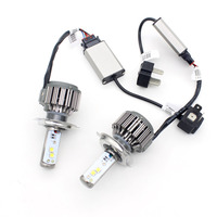 Dongzhen Auto V16 H4 HB2 9003 Hi Lo LED Car Head Light Source CREE Chip 40W