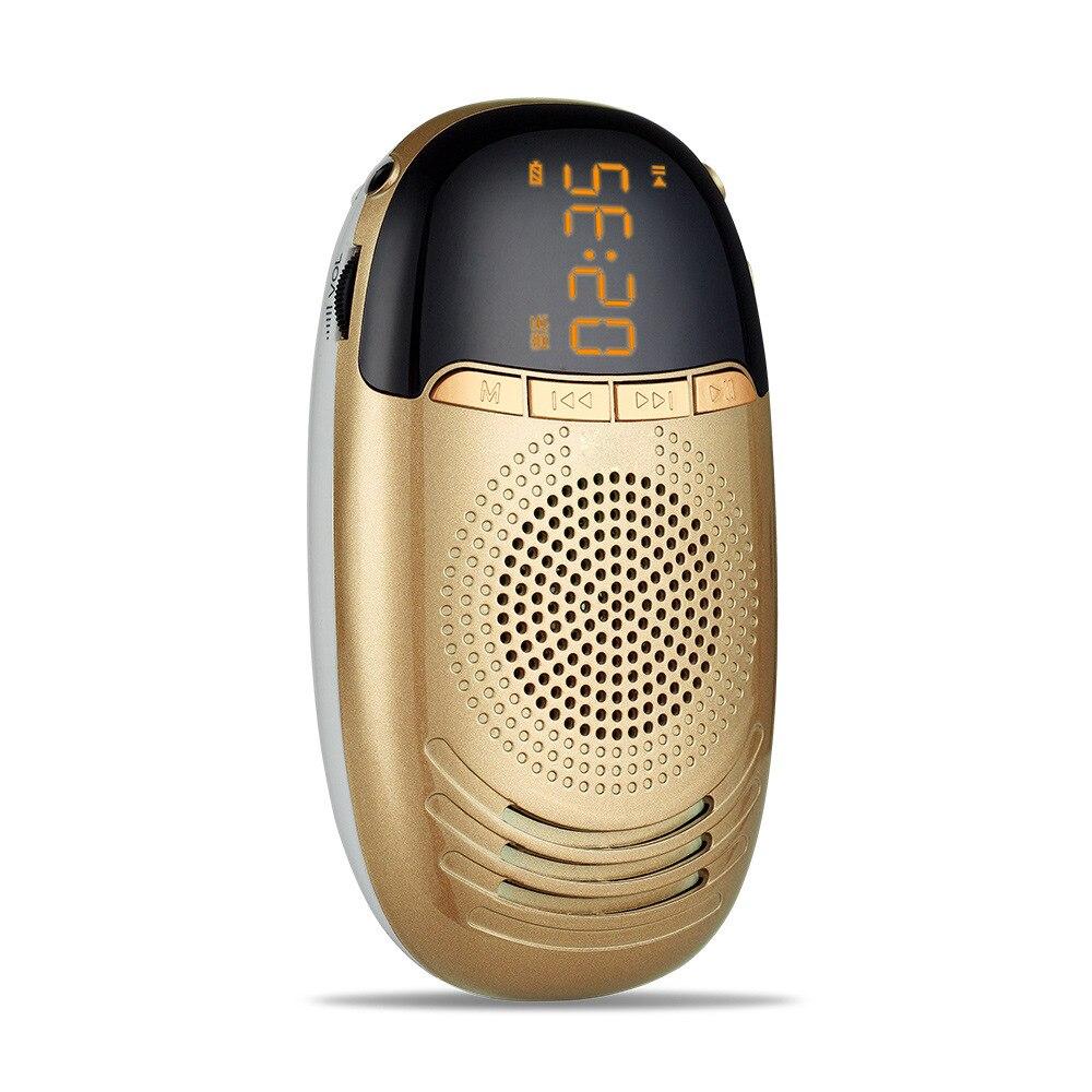 Tragbares Audio & Video S168 Tragbare Akku Mini Fm Radio Big Screen Mp3 Player Lautsprecher Im Freien Subwoofer Mini Radios Fm Unterstützung Tf Karte