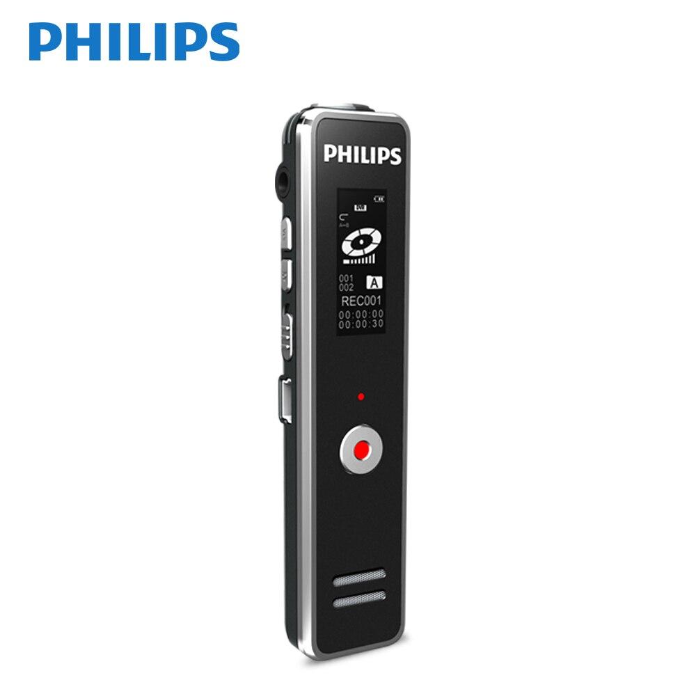 Warnen Philips Meetting Digital Voice Recorder Vtr5100 Professionelle Hd Mini Stimme Reduzierung Für Studie 8 Gb Tragbares Audio & Video Digital Voice Recorder