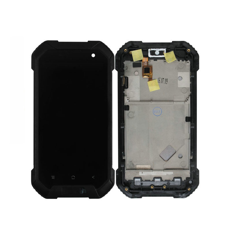 ФОТО LCD Display Touch Screen Digitizer Assembly Replacement Accessories For Blackview BV6000 4.7 Inch MT6755 Octa Core Mobile Phone
