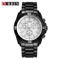 CURREN 8042 Relogio Masculino Watches Men Fashion Design Male Quartz Watch Cool Army Clock