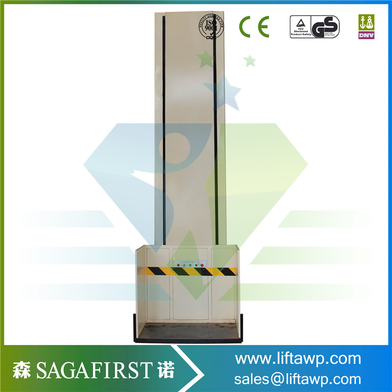 For Elders Vertical Wheelchair Platform Lift CE ISO Made In China
