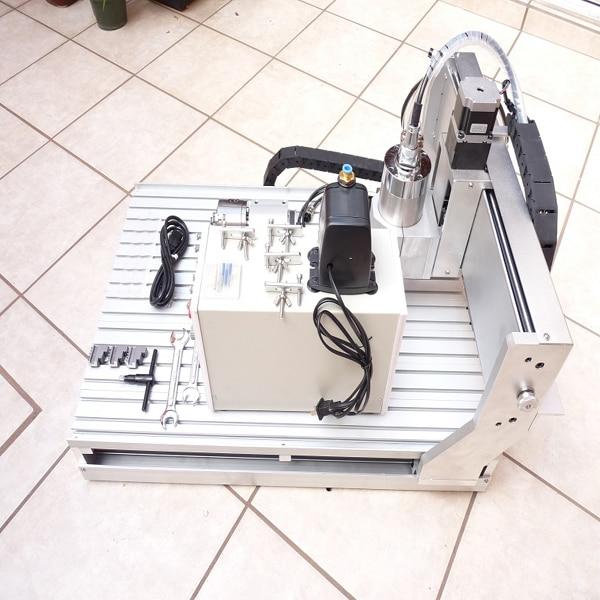 Mini máquina de torno cnc AMAN 3040 800W venta - Maquinaría para carpintería - foto 1