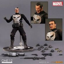 15cm Mezco One:12  The Punisher PVC Action Figure Statue Model Toy Doll Version