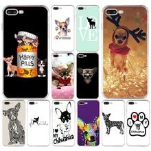 448532d89f8 83A Me encanta mi perro Chihuahua suave TPU funda de silicona para Apple  iPhone 6 6