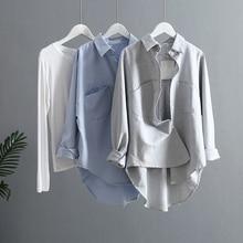 Весна, женская летняя блузка, корейский стиль, длинный рукав, Женские топы и блузки, винтажные женские рубашки, Blusas Roupa Feminina, топы