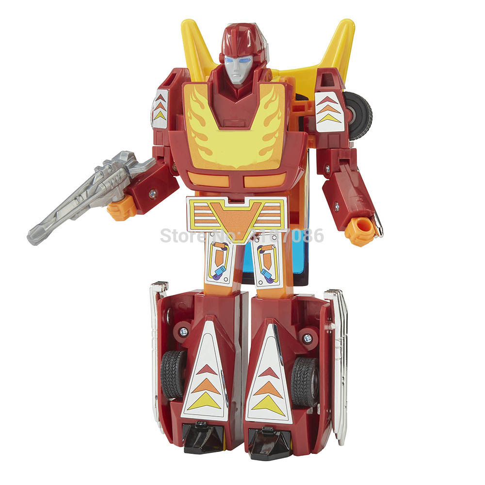 G1 Transformation Hot Rod Rodimus Limit Classic Animation Collection Action Figure Robot Toys