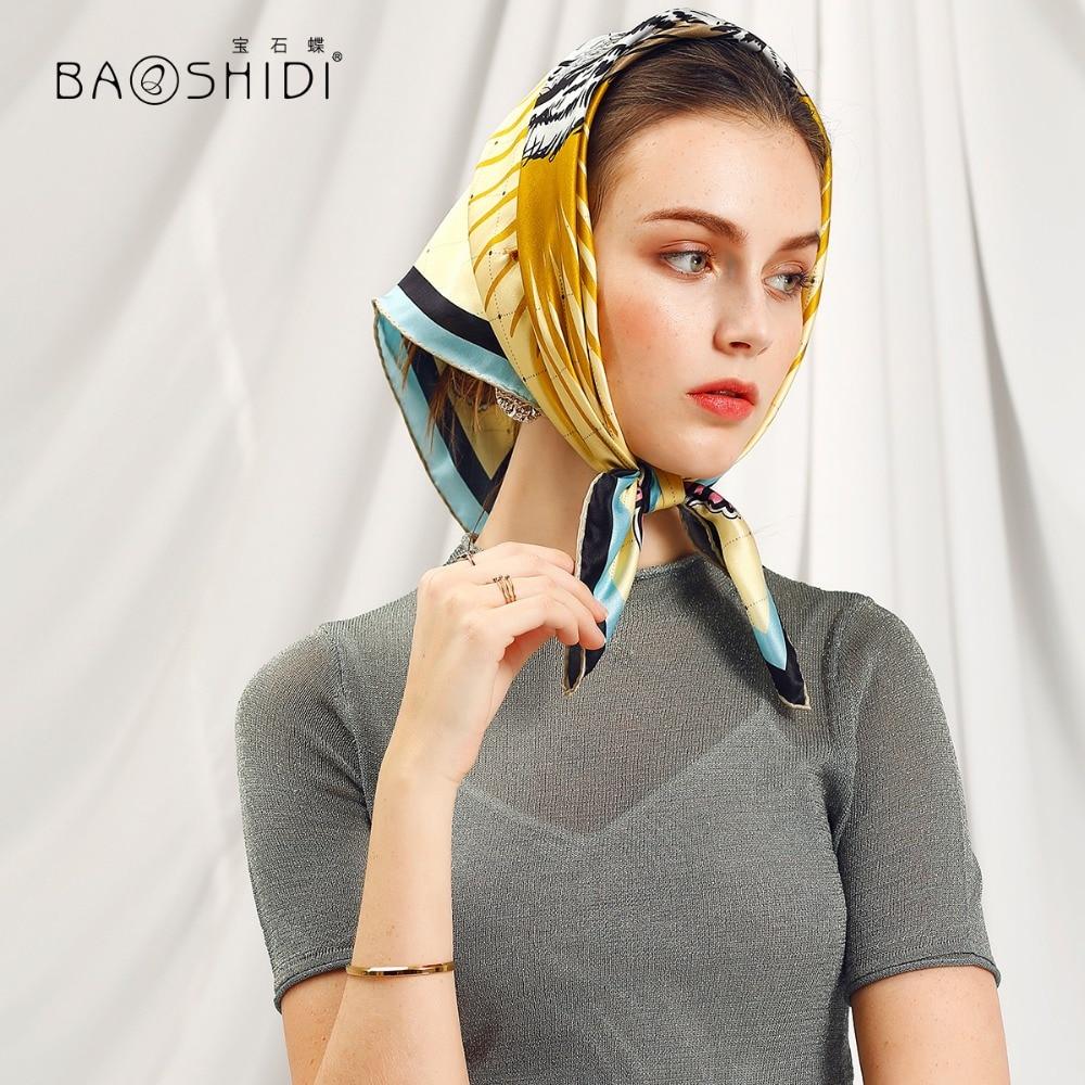 nuovo stile nuovo autentico ottenere a buon mercato BAOSHIDI] 2018 Primavera sciarpa Del Progettista, 100% Donne ...