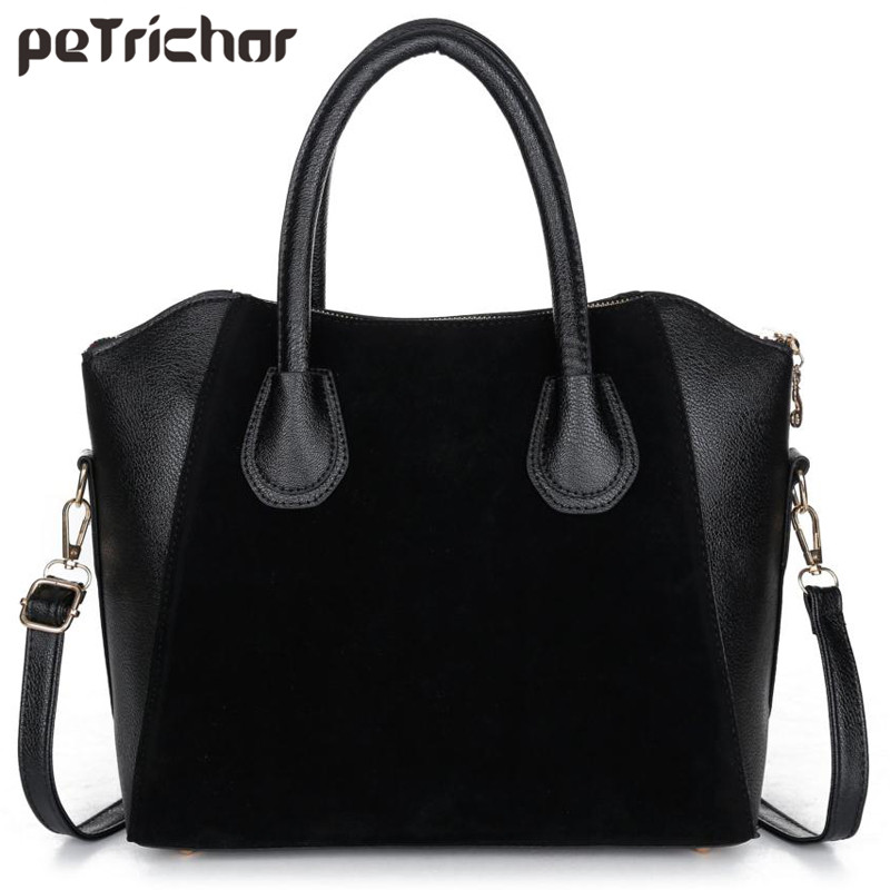 Fashion Women's Leather Handbag Single Shoulder Bags Casual Crossbody Bags Solid Brand Shoulder Bag Zipper Soft Handbags