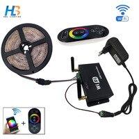 Music LED Strip 20M 2835 SMD RGB Strips 12V 6V Music Sound Sensor LED Strip Light