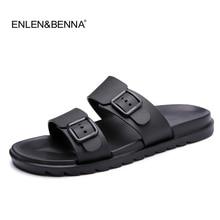 цена на 2018 Summer Style Men Flip Flops Beach Shoes Sandals Men Slippers Sandal Flats Shoes Mens Sandals Summer shoes sandalias mujer