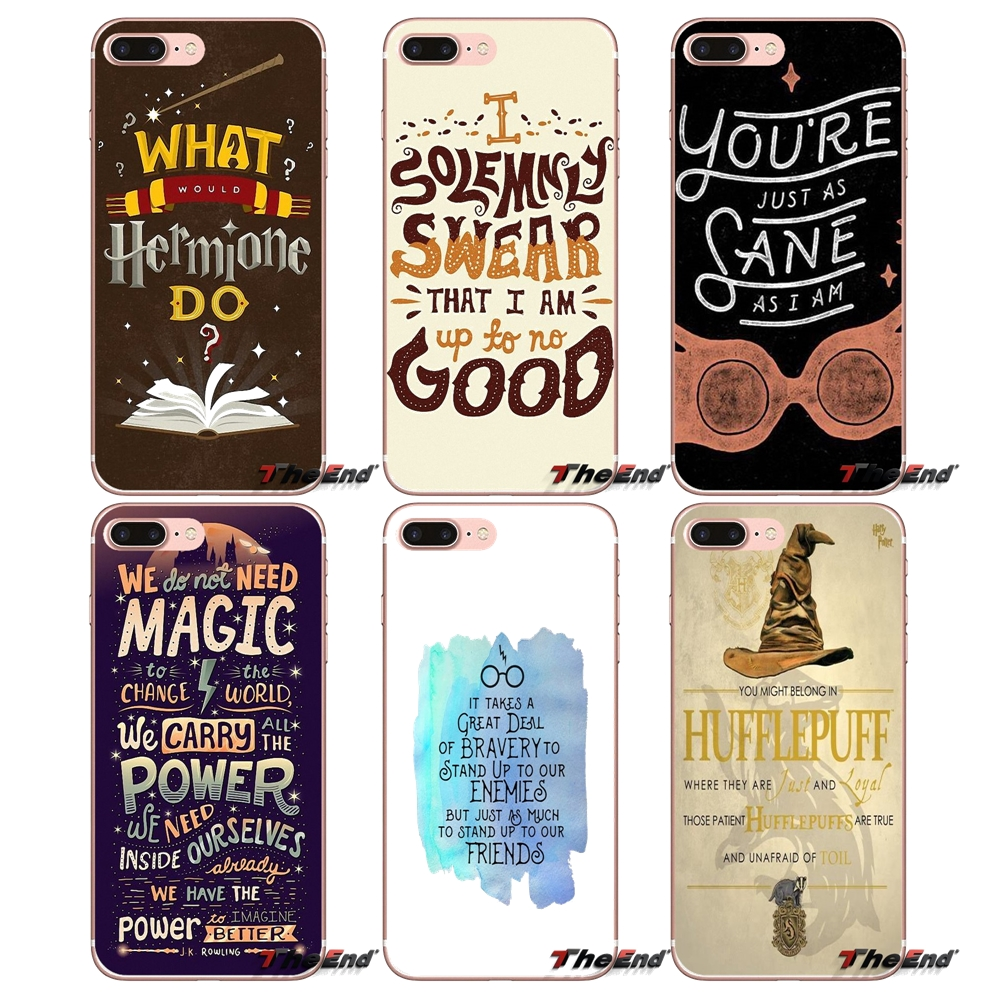 Best Ever Harry Potter Quotes For Huawei Honor 7x V10 6c V9 6a Play