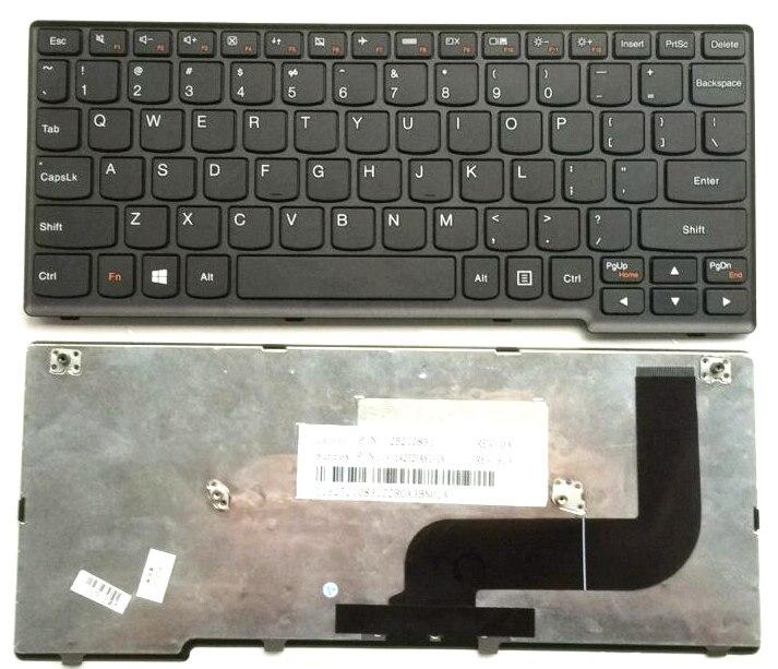 US Black New English Replace laptop keyboard For Lenovo yoga11s yoga 11s Flex10G S210 S210G s210t S215 s215T