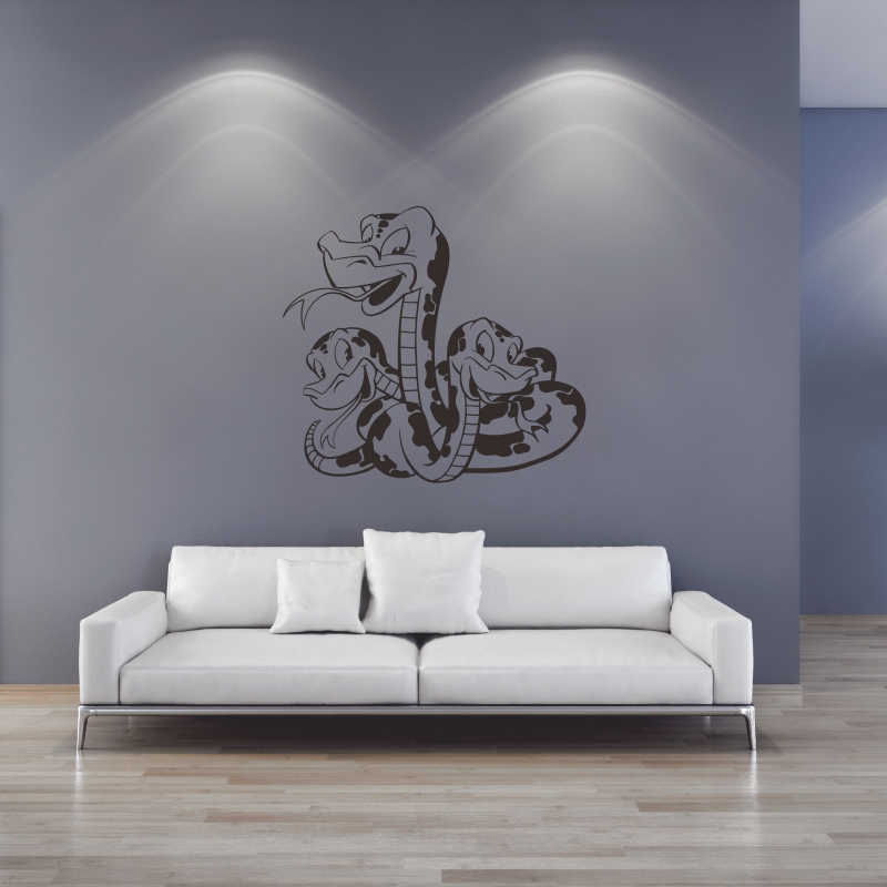 snake Sticker Logo Name snake Decal Posters Vinyl Wall Decals Pegatina Quadro Parede Decor Mural snake Sticke 1