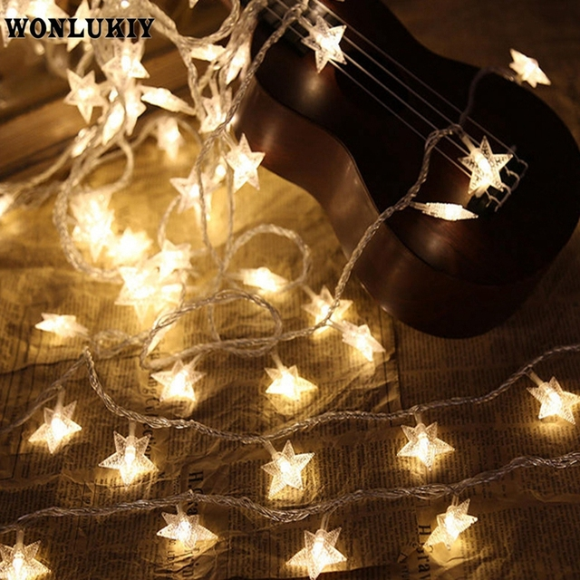 3m 30 Leds String Lights Fairy Star Light Battery Operated Waterproof Indoor Outdoor Christmas Wedding Holiday