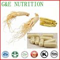 High Quality Panax Ginseng Root Extract Powder 100% Organic Ginseng Extract Capsules 4:1 500mg*100pcs/bag