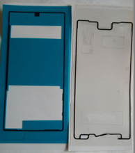 New Original Back Battery Cover + LCD Frame Waterproof Adhesive Sticker for Sony Xperia Z5 Free shipping