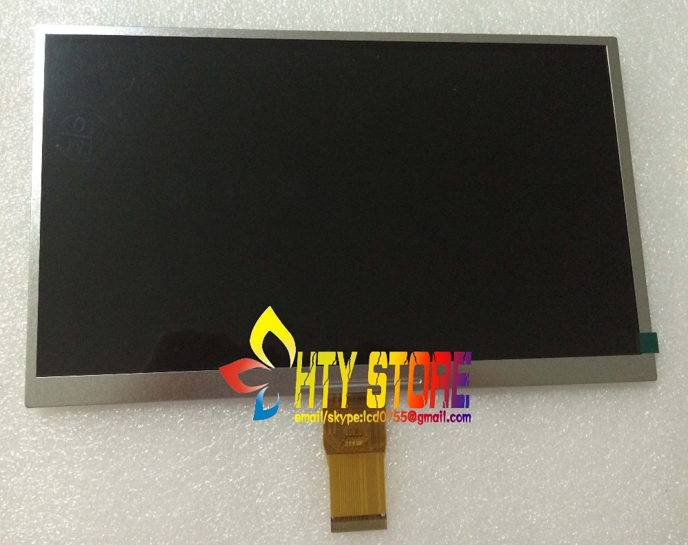 Original And New 10.1inch 40pin LCD Screen DX1010BE40F0 For Tablet Pc Free Shipping