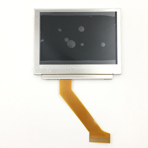 Image 2 - Nintendo GameBoy Advance GBA SP Için LCD Ekran AGS 101 Highlit Ekran LCD OEM Arkadan Aydınlatmalı Parlak ile 40pin 32pin şerit kablo