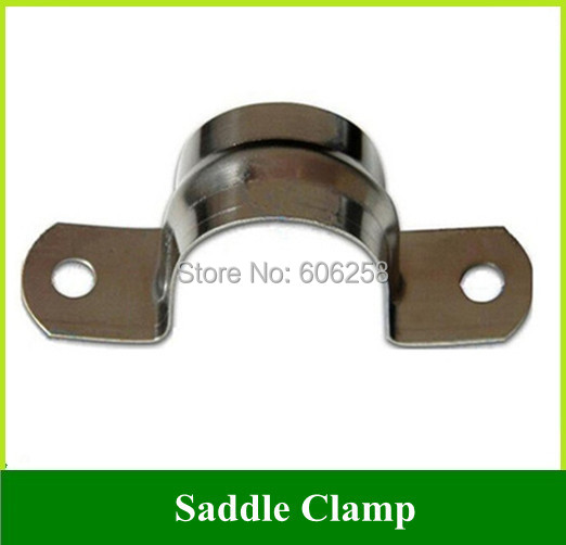 Stainless Steel Pipe Cl& / Pipe Bracket Cl& / U shaped Saddle Cl& 20mm diameter 100PCS  sc 1 st  AliExpress.com : pipe bracket clamp - www.happyfamilyinstitute.com