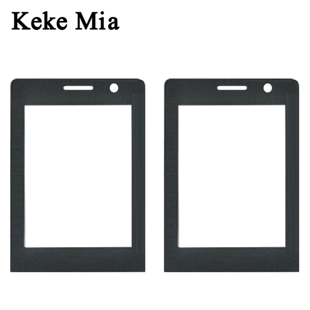 Keke Mia New Black Front Glass Lens For Philips Xenium Philips E289 Touch Screen Digitizer By Free Shipping Free Adhesive Wipes in Mobile Phone Touch Panel from Cellphones Telecommunications