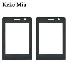 Keke Mia New Black Front Glass Lens For Philips Xenium E289 Touch Screen Digitizer By Free Shipping Adhesive+Wipes
