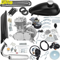 Genuine TDPRO 2 Stroke 80cc MOTOR ENGINE KIT GAS FOR MOTORIZED BICYCLE MOTORCYCLE BIKE SPEEDOMETER
