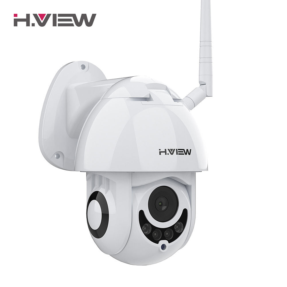 H.VIEW Wifi IP Camera 1080p IP Camera Wifi Cameras 1080p Video Surveillance Cameras 2mp PTZ Mini Dome 2 Way Audio