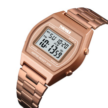 SKMEI Men Lady Luxury Digital Watch Stopwatch Fashion Man Clock Watch Top Brand  Outdoor Wristwatches erkek kol saati 1328 2016 fashion erkek kol saati men s rose gold day week month tourbillion auto mechanical watch wristwatches box free ship