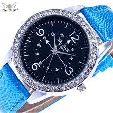 Женева цифровой двойной Весы серебряный сплав Diamond Dial 20 мм коричневый кожаный ремешок мужские пары Роскошные Кварцевые часы наручные часы C76