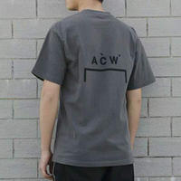 A COLD WALL ACW T Shirt Men Women Streetwear Round Neck Summer Cold Wall T shirt Loose Dyeing Top Tees A COLD WALL Tshirt