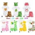 3 unid Por Juego de Verano 2015 Bebé Niño Pequeño Ropa Infantil ropa Conjunto Ropa Bebe Menino Niño Recién Nacido Ropa de Los Bebés conjuntos