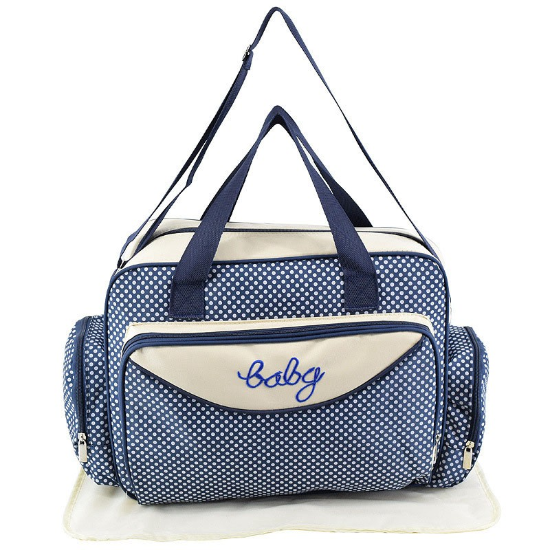 MOTOHOOD Baby Diaper Bag Organizer Baby Care Carriage Bag For Stroller Fashion Dot Multifunction Baby Bags For Mom 451530cm (3)