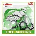 JIANSHE XV250 QJ250H chooper 250cc chopper junta de culata papel accesorios de la motocicleta envío gratis