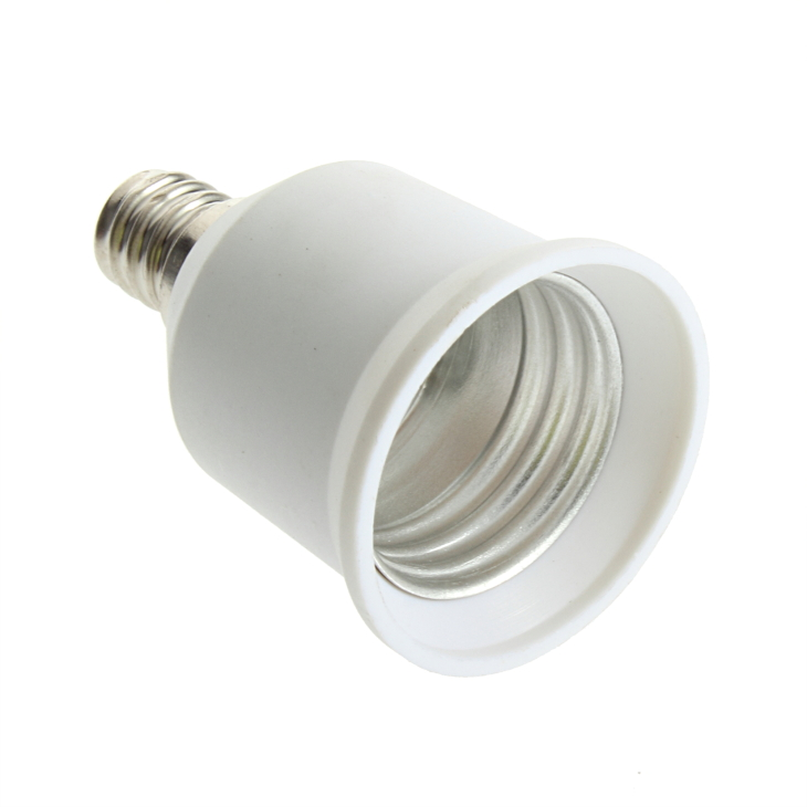 1pcs E12 To E27 Socket Light Bulb Lamp Holder Adapter Plug Extender Lampholder Newest Hot Search