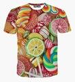 3D SHOW de menino menina das mulheres dos homens 3D T camisa , roupas de design da marca de manga curta up tamanho M-XXL