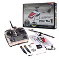 Wltoys V966 Power Star 1 6CH 2.4 G 3D Flybarless helicóptero de Controle Remoto RC helicoptero Controle Remoto