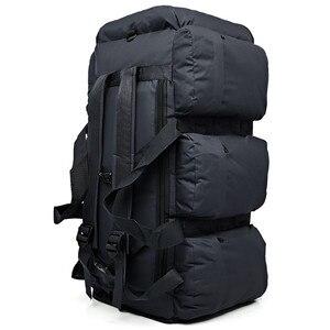 Image 5 - Sac à dos militaire tactique de grande capacité 90l, sac à dos de voyage pour hommes, camping randonnée étanche