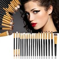 New set of 20 Professional pieces brushes pack complete make-up brushes Brand New and High Quality