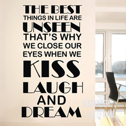 Word saying poem removable mural wall decoration brick wallpaper word saying poem removable mural wall decoration brick wallpaper family decal wedding decoration quote wall decals junglespirit Gallery