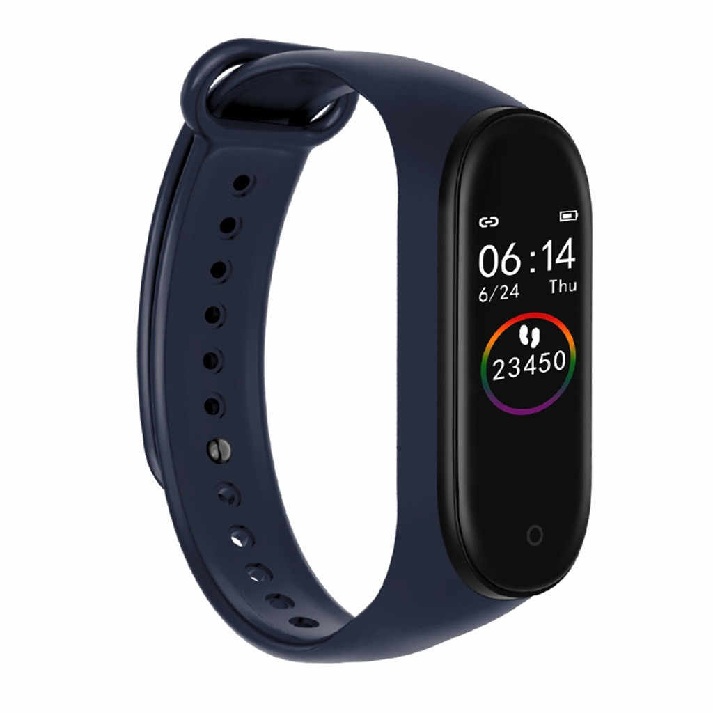 Reloj inteligente 2019 gran oferta M4 Monitor de ritmo cardíaco presión arterial deporte banda inteligente pulsera Fitness dropshipping
