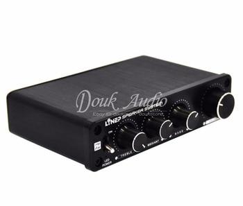 Nobsound Treble-Bass 136W Power Amplifier Sound Effector Four-channel Controller Pre-amp
