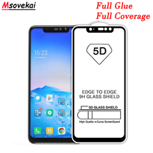 Full Glue Cover 5D 6D 9D 9H Tempered Glass For Xiaomi Mi Mix 3 2S Redmi Note 6 Pro Screen Protector Film Protective