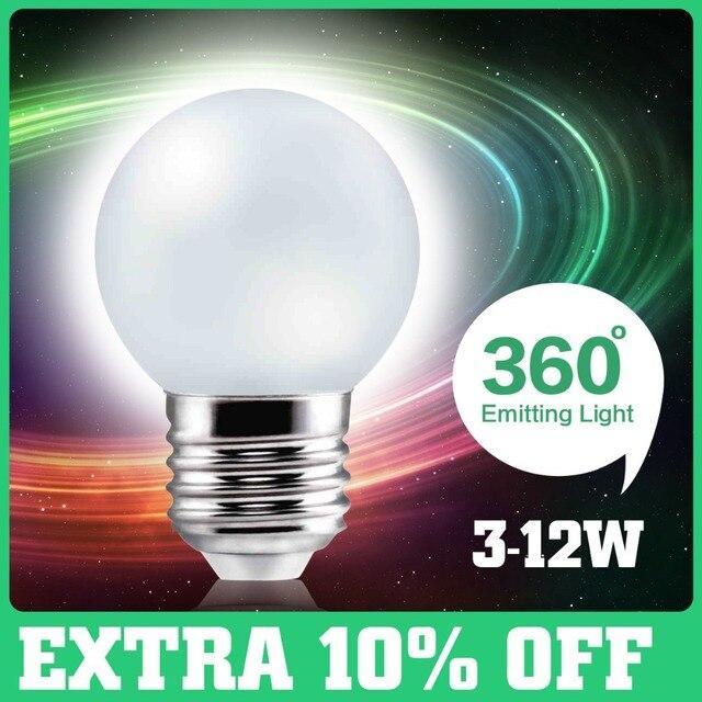 Из светодиодов лампы E27 220 В 3 Вт 5 Вт 7 Вт 10 Вт 12 Вт SMD из светодиодов лампы E27 белый теплый белый энергосберегающая из светодиодов свет лампы HQ луковицы лампочка оптовая продажа