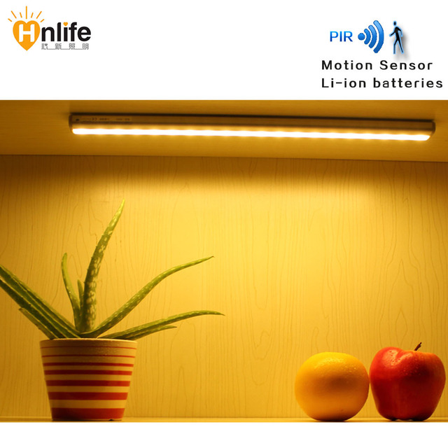 led bewegingssensor lamp kledingkast verlichting lithium batterij